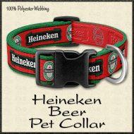 Heineken Beer Fan Pet Collar Product Image No1