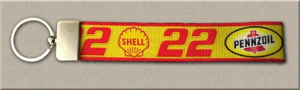 Joey Logano No22 NASCAR Key Fob