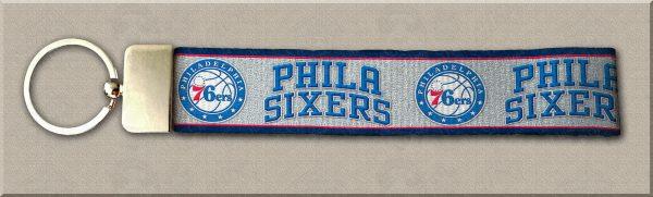 Philadelphia 76ers Designer Key Fob