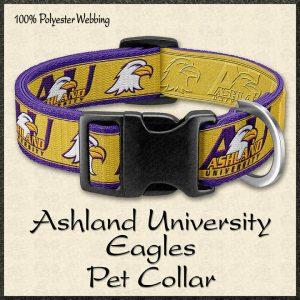 Ashland University Eagles Pet Collar Product Image No1
