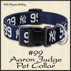Aaron Judge No99 NBA Basketball Pet Collar Product Image No1
