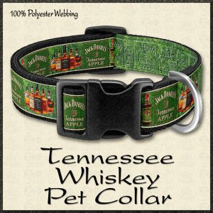 Tennessee Whiskey Fan Pet Collar Product Image No1
